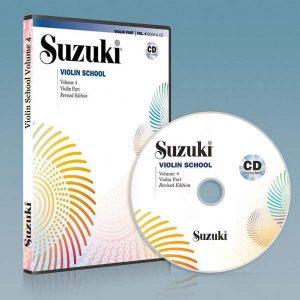 ویولون سوزوکی جلد چهارم به همراه فایل صوتی