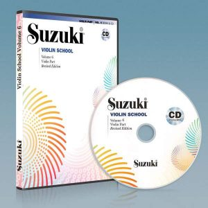 ویولون سوزوکی جلد ششم به همراه فایل صوتی