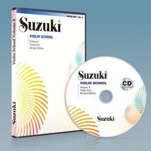 ویولون سوزوکی جلد هشتم به همراه فایل صوتی