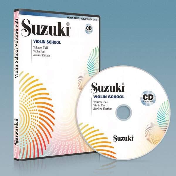 ویولون سوزوکی ۱۰ جلد کامل به همراه فایل صوتی