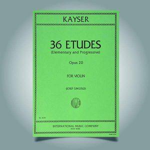۳۶ اتود کایزر به همراه فایل صوتی