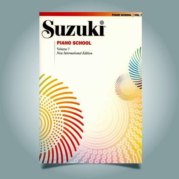 دانلود کتاب پیانو سوزوکی جلد هفتم